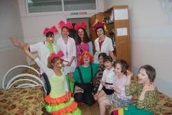 Клоунотерапия в Тольятти