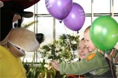 медведь Балу на празднике
